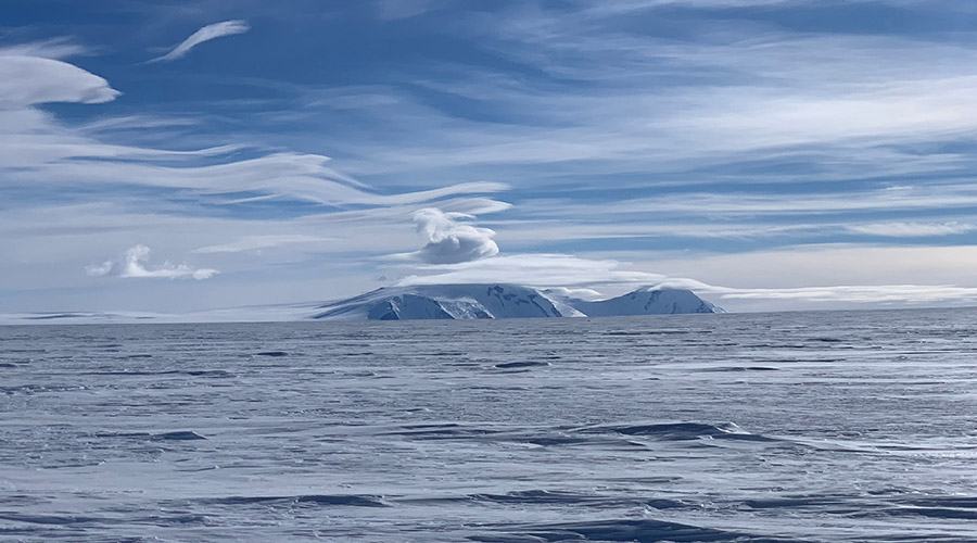 viaje en la Antártida