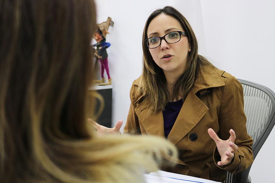 entrevista ministra de salud