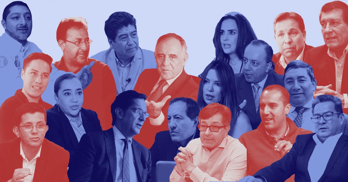 Candidatos a la Alcaldía de Quito