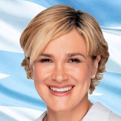 Cynthia Viteri, candidata a alcalde de Guayaquil 2019