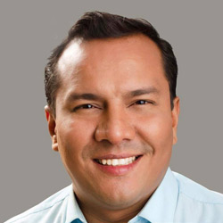 Edgar Salazar, candidato a la Alcaldía de Guayaquil 2019
