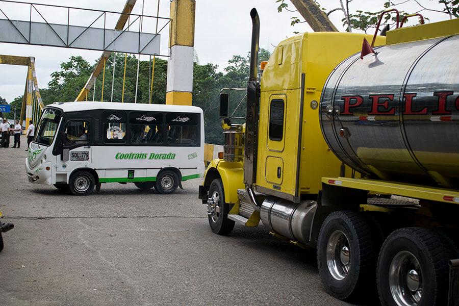 tanquero de gasolina