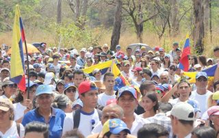 bloque de ayuda humanitaria en Venezuela