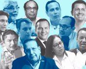 Quiénes son los candidatos a la Alcaldía de Guayaquil 2019