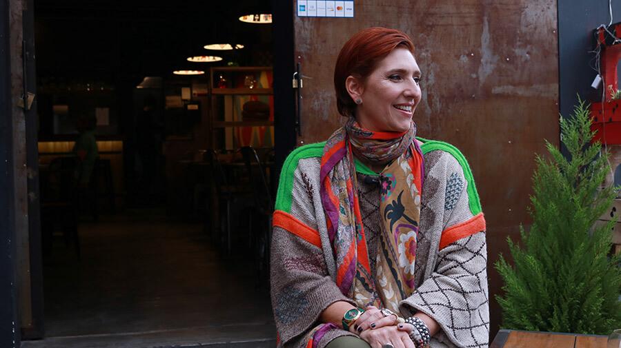 Cristina Morrison, cantante ecuatoriana.
