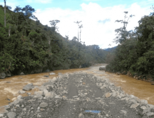 El río Upano sigue en cuidados intensivos