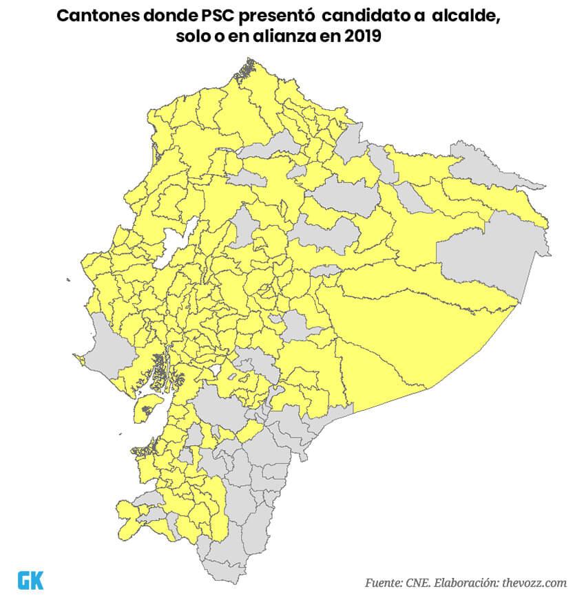 primera fuerza política del Ecuador