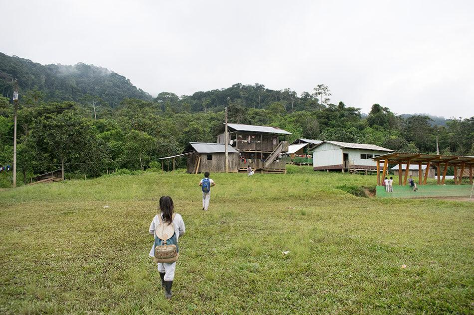 Comunidad Tsuntsuim tiene 27 familias shuar.
