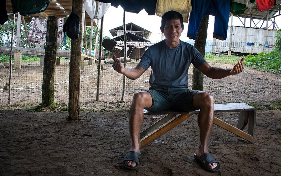 Domingo Nayash habla sobre el conflicto minero en Nankints