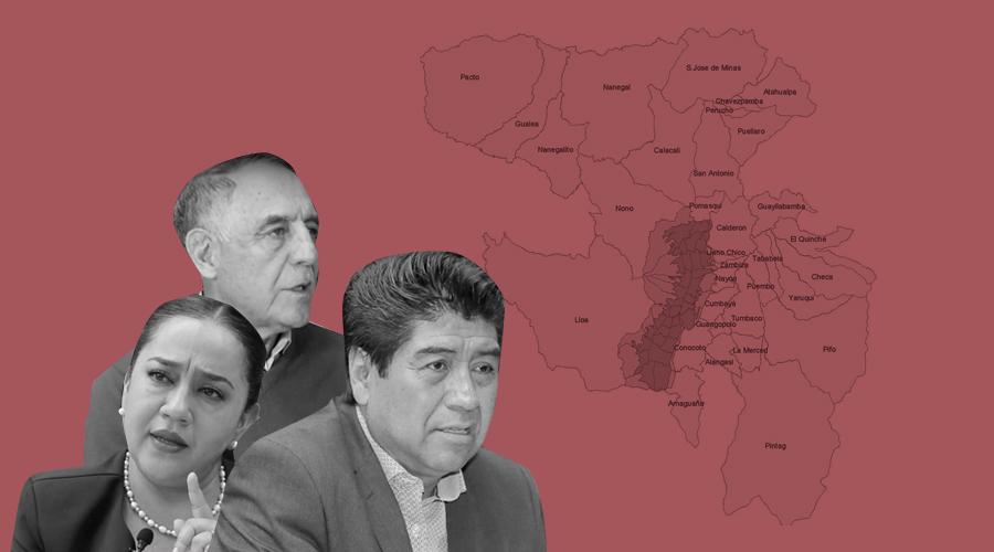 mapa resultado elecciones quito