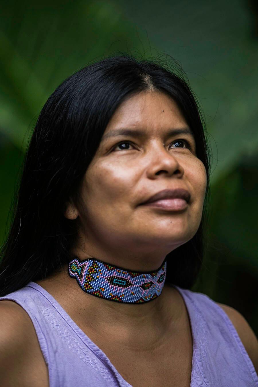 Patricia Gualinga lider ambiental