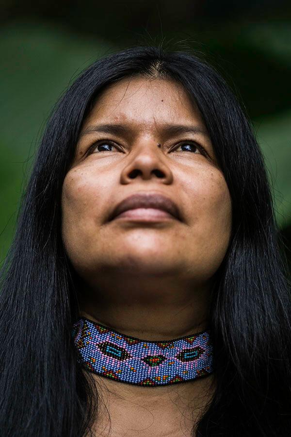 Patricia Gualinga Sarayaku