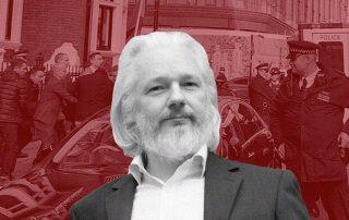 Julian Assange cofundador de Wikileaks fue detenido este 11 de abril por la Policía Metropolitana londinense en la embajada ecuatoriana de Londres, luego de que Ecuador le retirara el asilo.