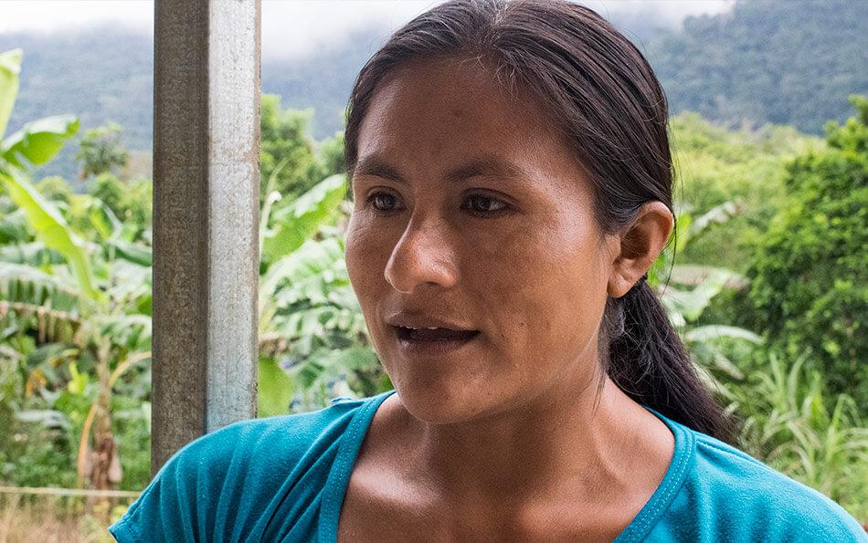 Soledad Chumpik, habitante de Tsuntsuim