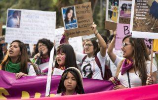 números de femicidios en Ecuador