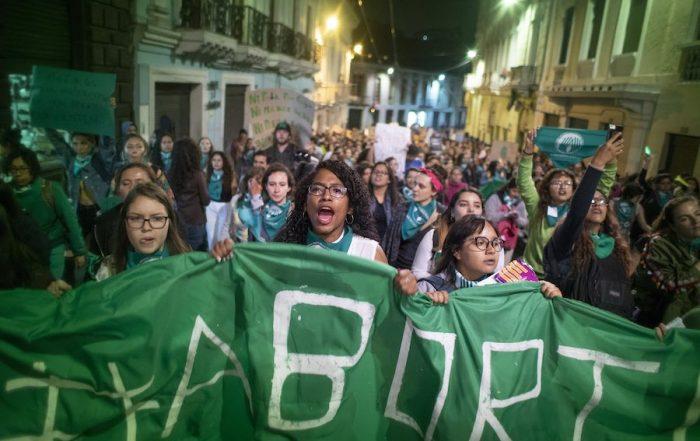mujeres presas por abortar en Ecuador