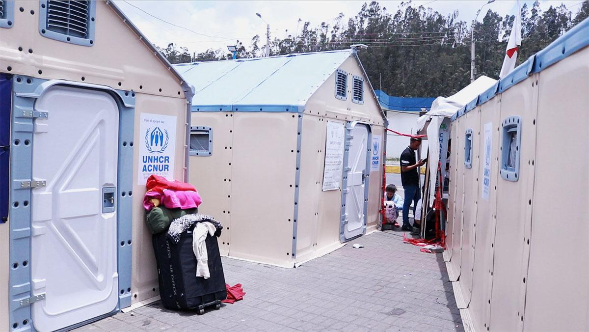 casas-acnur-migrantes-rumichaca