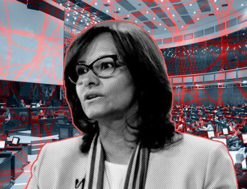 Se fue Elizabeth Cabezas, la presidenta que solo fue noticia en el escándalo