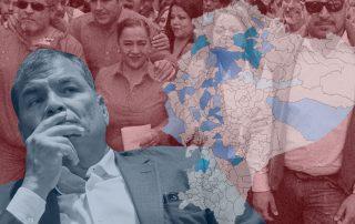 La fuerza del correísmo en Ecuador