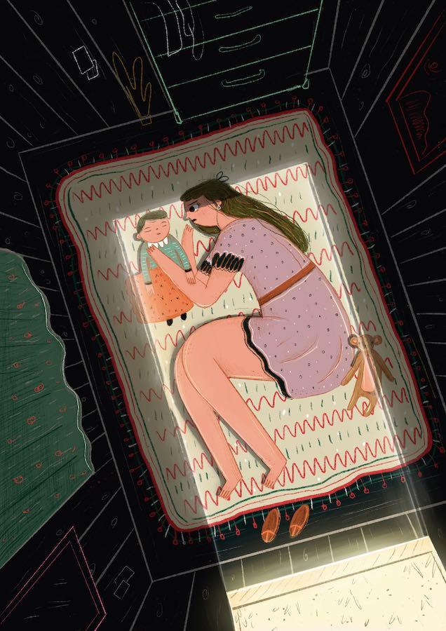 niñas madre Latinoamérica