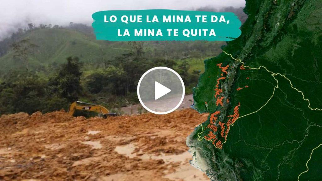 La minería a gran escala en el Ecuador