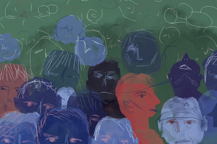 el miedo a los migrantes en Tulcán
