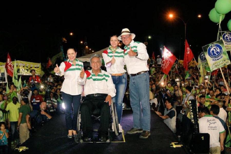 campaña presidencial Lenín Moreno