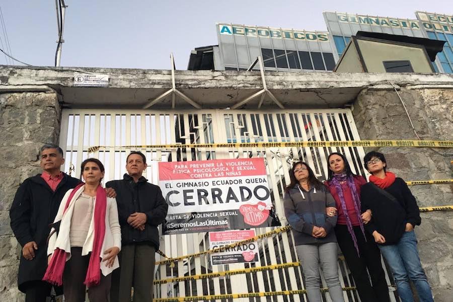 abuso sexual dentro de gimnasio de Quito
