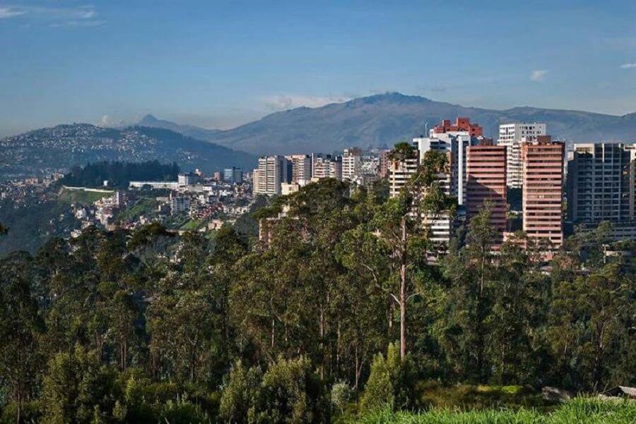 la falla de Quito