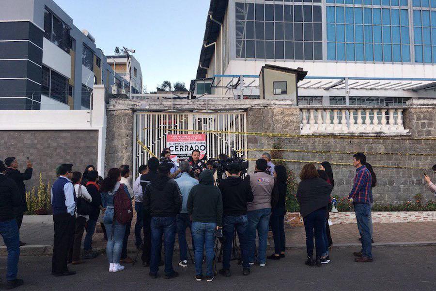 Gimnasio Ecuador fue cerrado simbólicamente