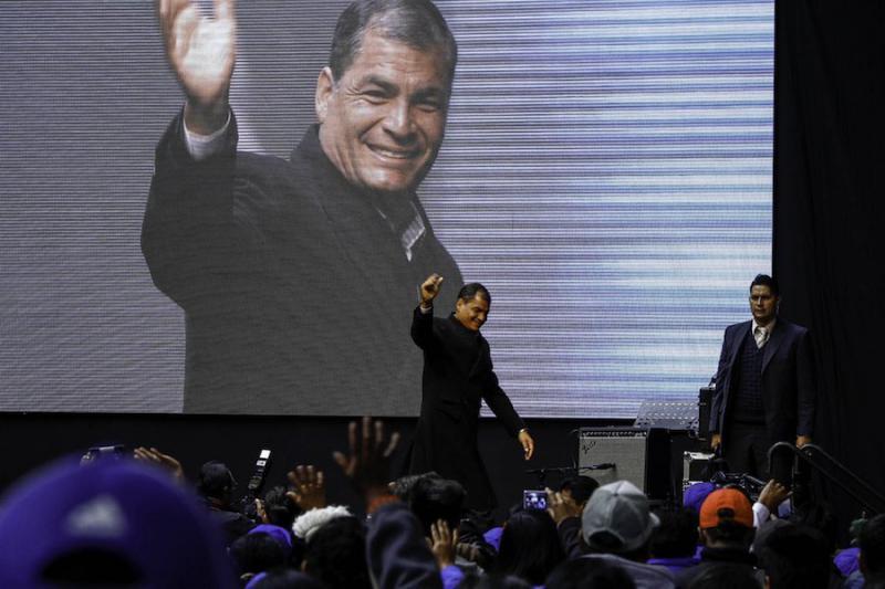 prisión preventiva Rafael Correa