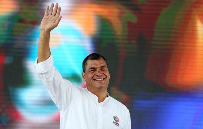 Rafael Correa, es uno de los implicados del caso Sobornos 2012-2016