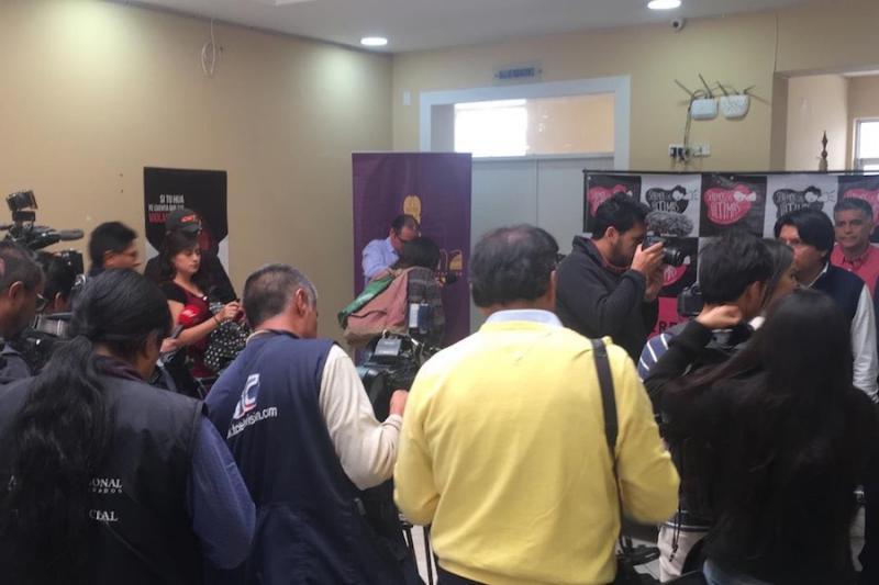 """Ana Vera, abogada de Surkuna, dijo que en el caso de Alcides Patiño se registró un """"un patrón de abuso sexual sistemático"""". Fotografía de Yalilé Loaiza para GK."""
