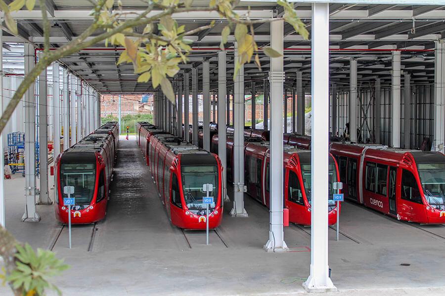 el tranvía de Cuenca es eléctrico