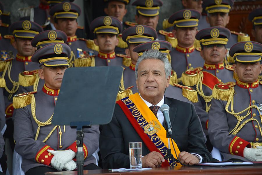 Hay nuevos mandos en las fuerzas armadas del Ecuador