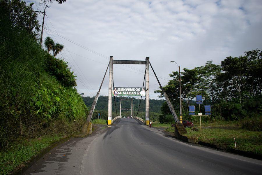 entrada a Macas, Morona Santiago