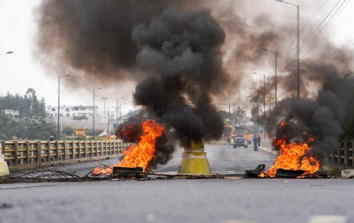 el Ecuador sae a las calles