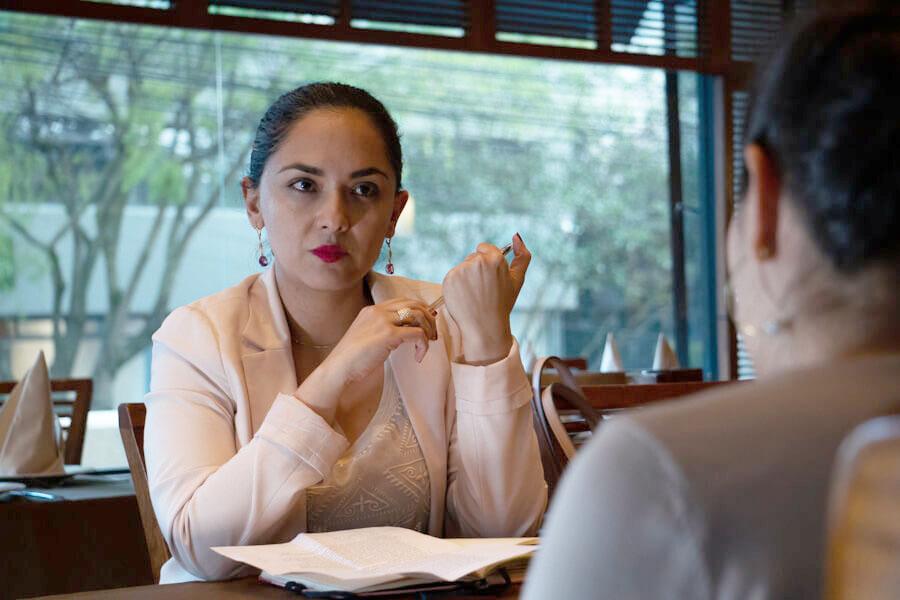 María Paula Romo evalúa las acciones del gobierno