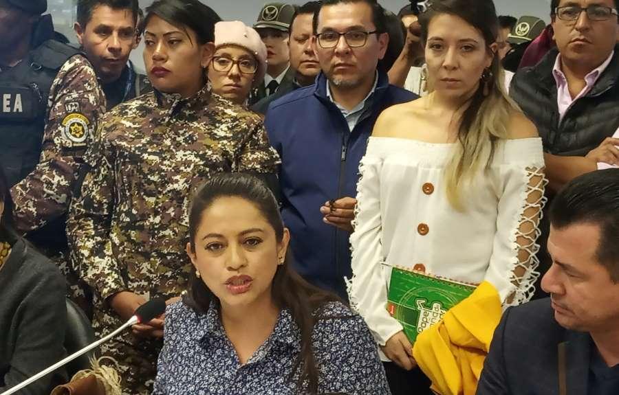 medidas cautelares para Paola Pabón