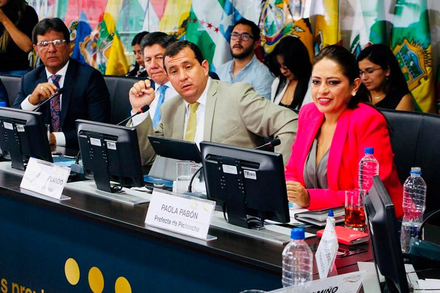 Reformulan cargos contra Paola Pabón