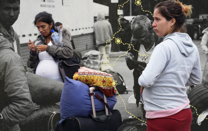 mujeres venezolanas embarazadas