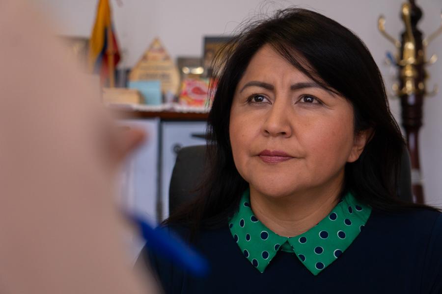 Ximena Peña habla sobre el futuro de Alianza País