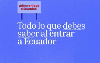 ingreso venezolanos Ecuador