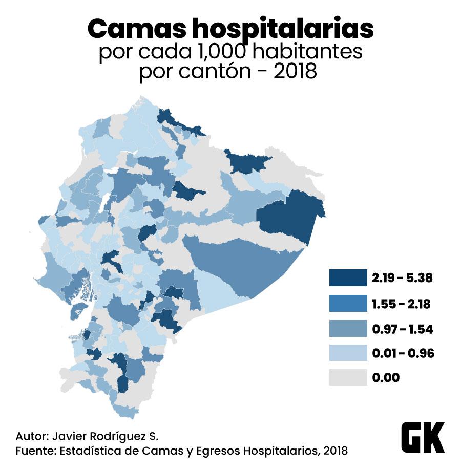 Las camas hospitalarias alcanzan para cubrir la demanda