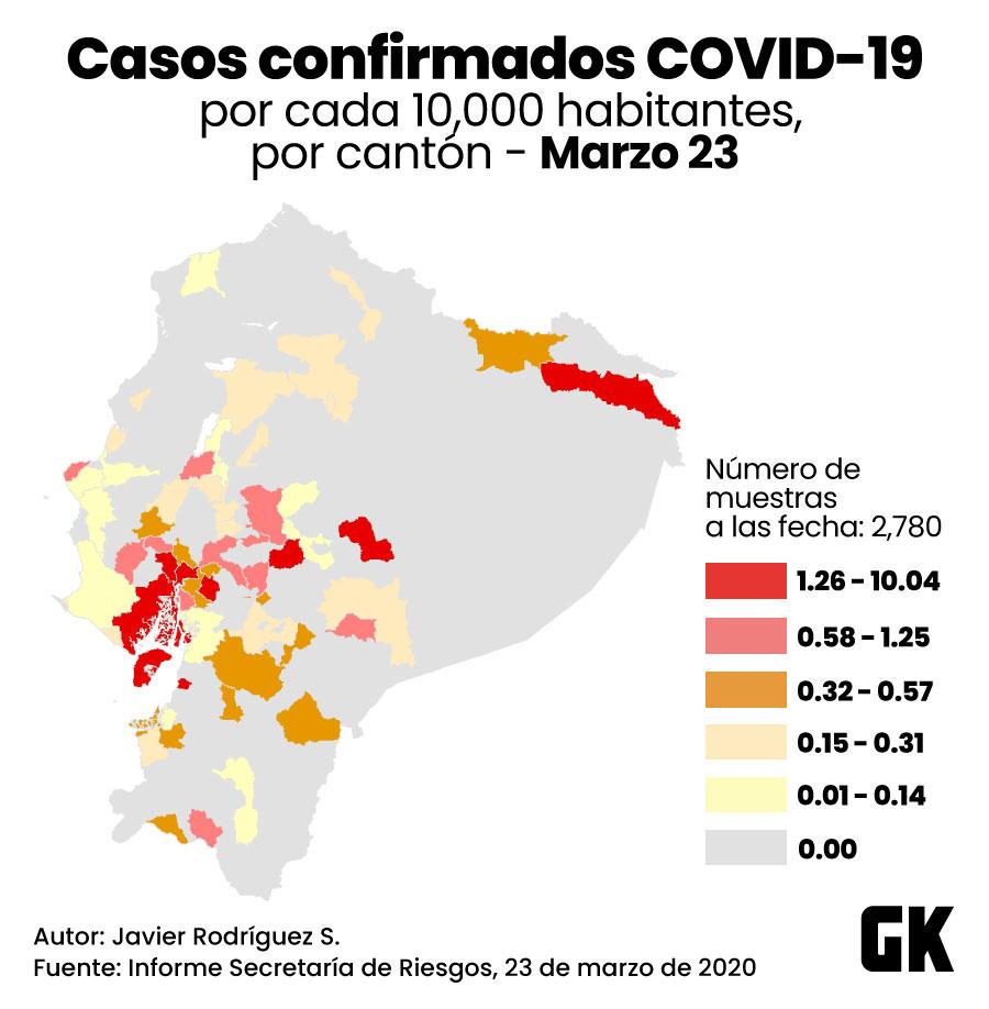 El sistema de salud ecuatoriano puede enfrentar el coronavirus