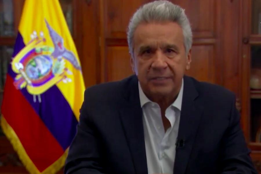 Lenín Moreno declaró emergencia sanitaria