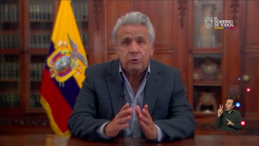 circulación restringida por coronavirus en Ecuador