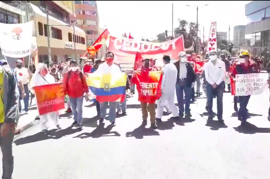 marchas contra de las medidas del gobierno
