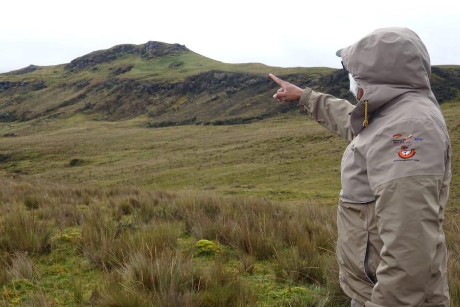 guardaparques en Ecuador