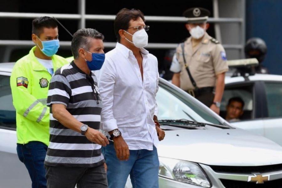 Prefecto del Guayas recibe medidas alternativas